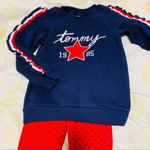 Tommy Hilfiger Girls 2 pc Set Size: 6 New With Tag